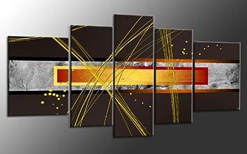 Xxl Leinwandbilder Gunstig ~ Xxl mehrteiliges bild auf leinwand teile abstrakt art nr m