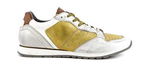 MPB121 Cafè Sneakers E17 Giallo Cuir Bicolore en 1760 Noir Bianco BqfqRZ