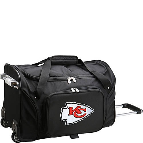 NFL 22'' Rolling Duffel Kansas City Chiefs by TableTop King
