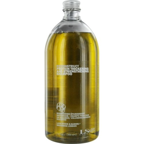 Lock Stock & Barrel Reconstruct Protein Thickening and Strengthening Shampoo, 34 Ounce ()
