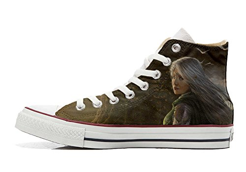 Converse All Star personalisierte Schuhe - HANDMADE SHOES - Future Girl C