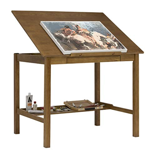 STUDIO DESIGNS Americana II Drafting Table 36in X 48in Light Oak 13253