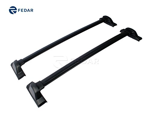 Fedar Roof Rack Cross Bar Cargo Carrier for 2007-2011 Honda CRV (Honda Crv Rack Roof 2010)