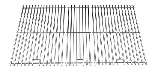Grand Hall - Stainless Steel Cooking Grid for Kenmore 141.16655900, 141.17677 & Grand Hall CG108ALP CG109ALP CSTS13ALP, CG108ALP, CG109ALP Gas Grill Models, Set of 3