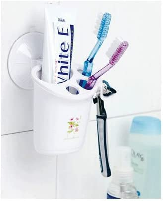 New Lovely Sucking Toothbrush Holder Suck Wall Healthy Life