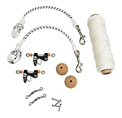 Tigress Economy Rigging Kit, 100' For Big Game Kite Fishing Such As Shark, Wahoo, Mahi Mahi, Tuna Or Sailfish