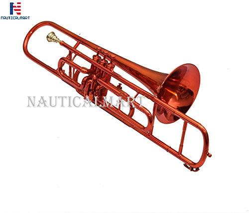 Valve Trombone Bb Red