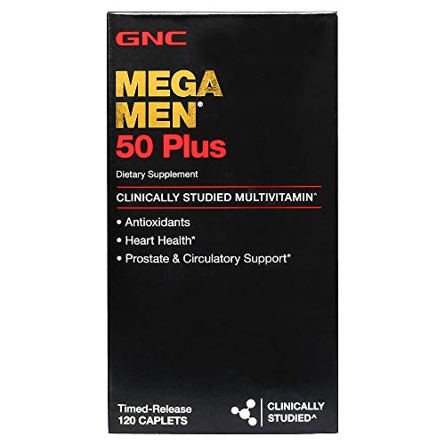 GNC Mega Men 50