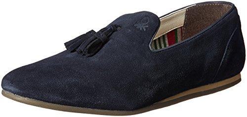 United Colors of Benetton Men's Leather Espadrille Flats