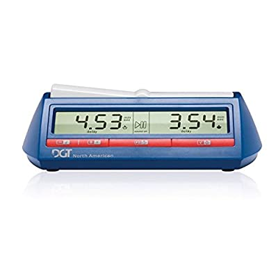 DGT North American Chess Clock and Game Timer: Toys & Games