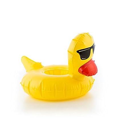 Eurowebb soporte hinchable para latas pato – Flotador para bebida piscina y Mar