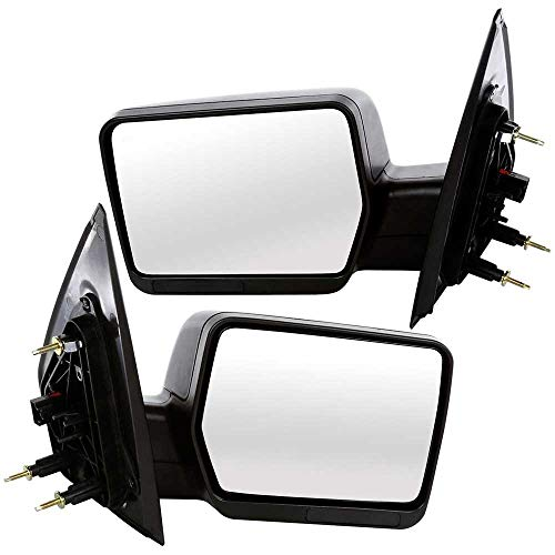 Heated Mirror Power Non - Prime Choice Auto Parts KAPFO1320233PR Set (2) Driver Passenger Side Power Non-Heated Mirrors