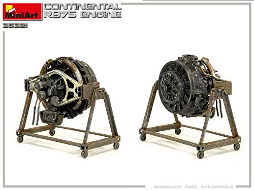 MiniArt 35321 - Continental R975 Engine WWII 1/35 Scale 6