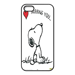 Snoopy Hard Case Cover Skin For Apple Iphone 5 5S Cases KHR-U1572536