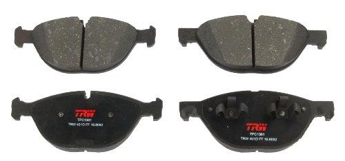 TRW TPC1381 Premium Ceramic Front Disc Brake Pad Set