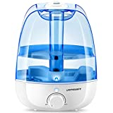 URPOWER Humidifiers, 3 Litres Ultrasonic Cool Mist Humidifier...