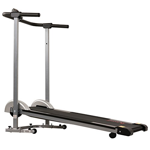 Sunny Health & Fitness SF-T1407M Manual Walking Treadmill, Gray by Sunny Health & Fitness (Image #7)