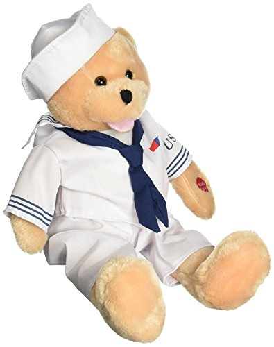 "Chantilly Lane 19"" American Hero Navy Bear Sings Anchors Aweigh from Chantilly Lane"