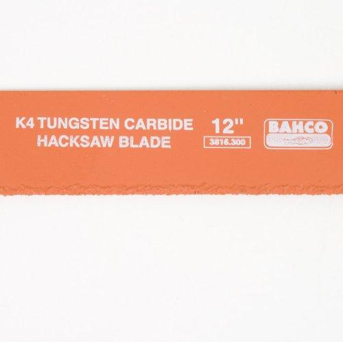 Bahco 3816-300 Tung Carbide Hacksaw Blade 12-Inch