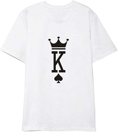 Camiseta Poker Tarjeta de Disfraces Camiseta Algodón Impreso ...