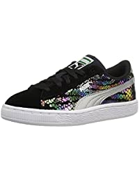 PUMA Suede Sportlux PS Sneaker (Little Kid/Big Kid)