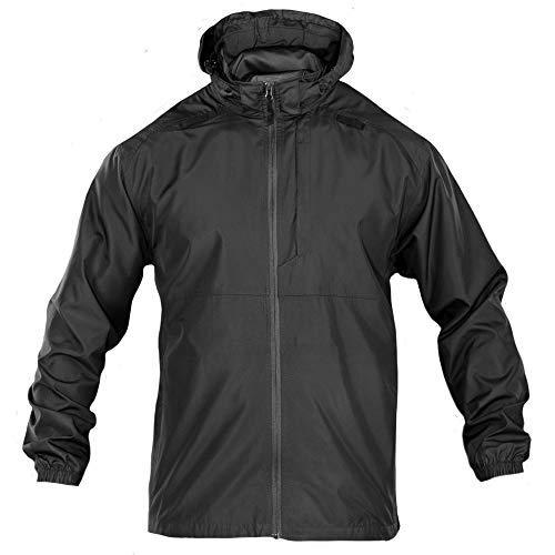 5.11 Tactical Packable Operator Jacket, Foldable, Water and Wind Resistant, Style 48169