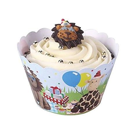 Y Party WrappersAmazon Animal Cupcake esJuguetes Juegos KTlF1Jc