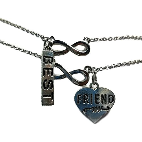 Mean Girls Costumes For Guys - Friendship Necklaces For 2 - MoonWish Best Friend Gifts For Teen Girls