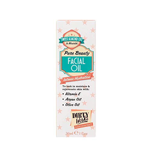Dirty Works Pure Beauty Facial Oil Intense Hydration 1oz