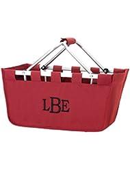 Reusable Shopping Market Tote Basket Craft Sewing Organizer