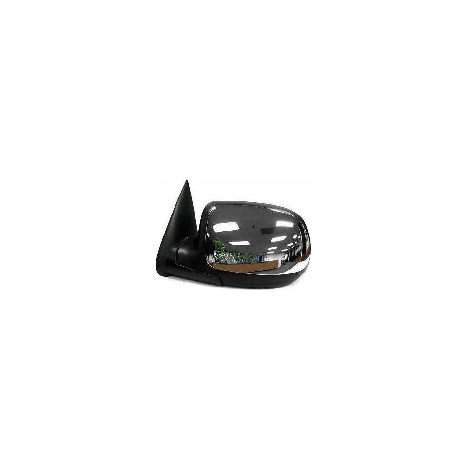 99 05 CHEVY CHEVROLET SILVERADO PICKUP MIRROR LH (DRIVER SIDE) TRUCK, Manual, Chrome (1999 99 2000 00 2001 01 2002 02 2003 03 2004 04 2005 05) GM59CL PERFORMANCE