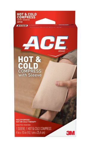 Ace Knitted Cold/Hot Compress, Reusable