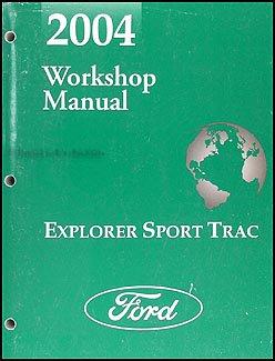 2004 ford explorer sport trac repair shop manual original ford rh amazon com 2004 ford explorer manual transmission 2004 ford explorer manual repair