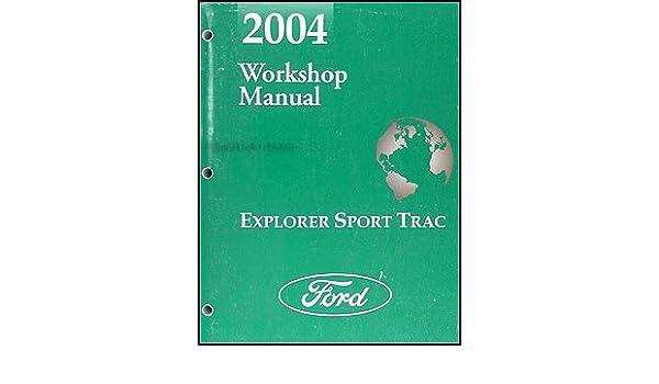 04 ford explorer sport trac repair manual