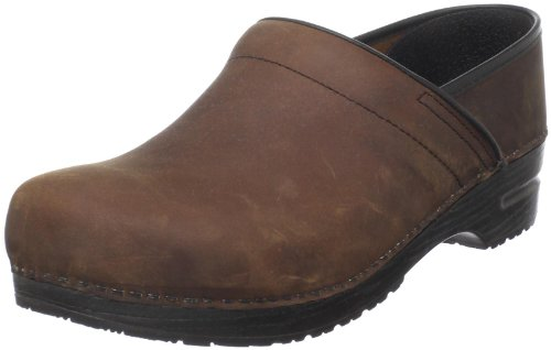 - Sanita Men's Professional Oil Clog,Antique Brown,47 EU (US Men's 13.5-14 M)