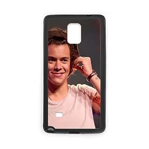 Samsung Galaxy Note 4 Cell Phone Case Black Harry Styles Geminis Music I7J1EV