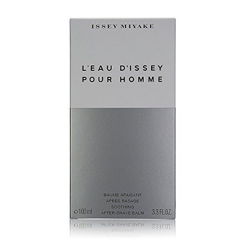 L'eau D'issey by Issey Miyake for Men. Aftershave Balm Alcohol Free 3.4-Ounces (Pack of 7)