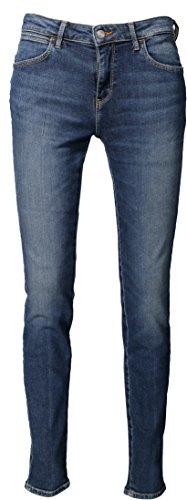 Skinny Jeans Donna Skinny Wrangler Wrangler Jeans Blu gwqdOB6x