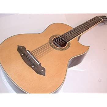 rossetti 1183 nat bajo sexto acoustic electric guitar mexican style natural. Black Bedroom Furniture Sets. Home Design Ideas
