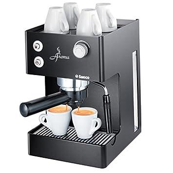 Saeco Aroma Black, Negro, 203 x 254 x 298 mm, 5851 g, Metal - Máquina de café: Amazon.es: Hogar