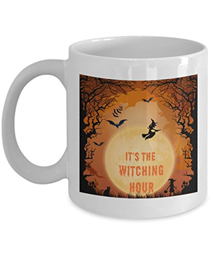 (It's The Witching Hour White Halloween)