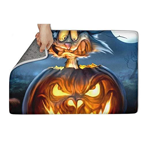Koldd Happy Halloween Pumpkin Cool Design Outdoor Door Mats 23.5x15.5 Easy to Dry Door Mat Non-Slip Mud Doormat ()