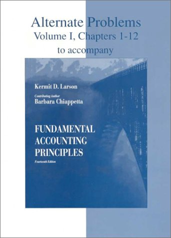 Download Fundamental Accounting Principles: Alternate