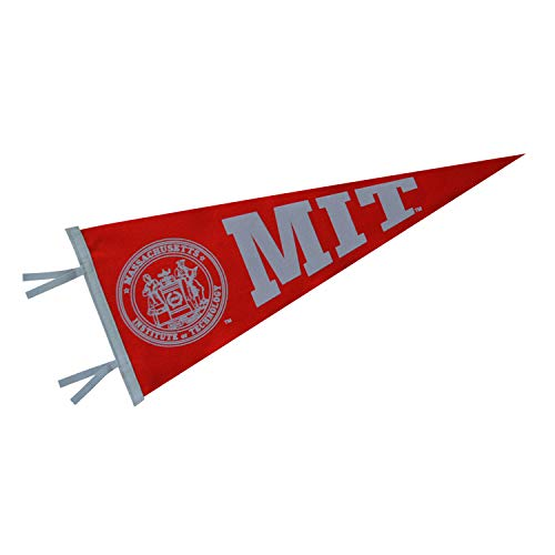 (Ivysport Massachusetts Institute of Technology (MIT) Pennant, Full-Size, 12