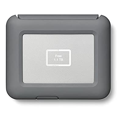 LaCie DJI Copilot BOSS Computer-free In-field Direct Backup and Power Bank with SD Reader, 2000GB + 1mo Adobe CC All Apps (2TB)