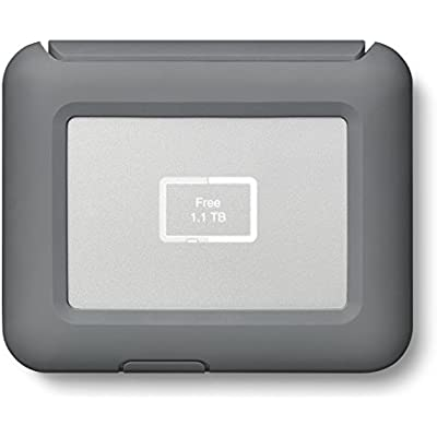 LaCie DJI Copilot Boss Computer-Free In-field Direct Backup and Power Bank with Reader  2000GB 1mo Adobe All Apps  2TB