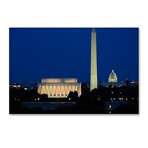 (CafePress - Washington DC Skyline - Postcards (Package of 8), 6