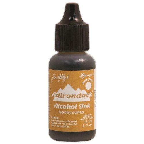 (Ranger Adirondack Lights Alcohol Ink, 0.5-Ounce, Honeycomb)
