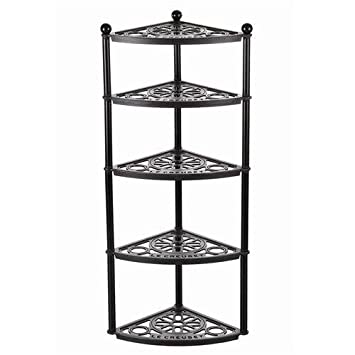 New Le Creuset 5 Tier Pot Stand, Satin Black: Amazon.co.uk: Kitchen & Home SK16
