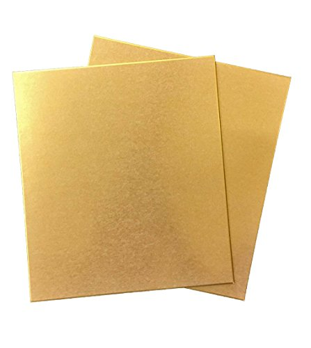 Gold Shikishi Boards 2 pieces by Unknown